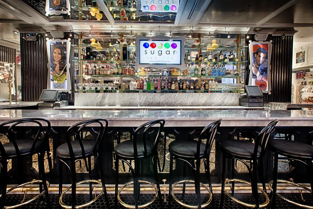 Open bar package discount at sugar factory