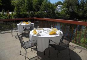 Willits-Hallowell Center Waterfront Patio