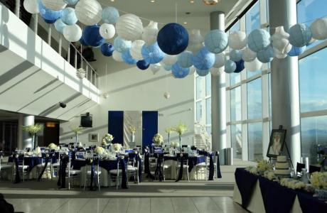Scholarship Room - Contemporary Wedding