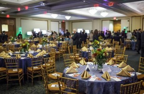 The Conference Center can host your formal event with seating for 500 people