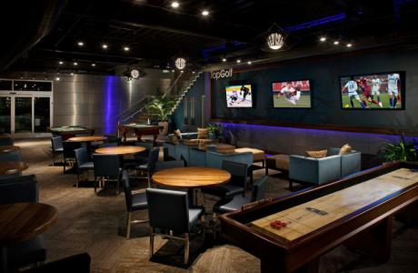 Topgolf Houston-Katy Lower Lounge