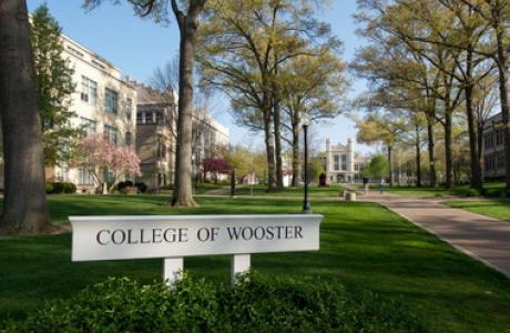The College of Wooster Academic Mall