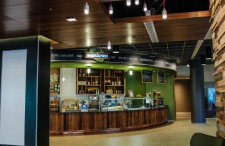 Engrained Cafe, Loyola's first green cafe at Lake Shore Campus