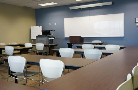Comfortable classrooms and surroundings