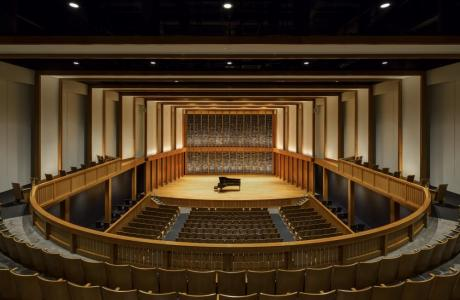 Concert Hall at the Jack H. Miller Center (Capacity 800)