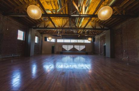 Large Urban Rustic Modern Event Venue Los Angeles Stage