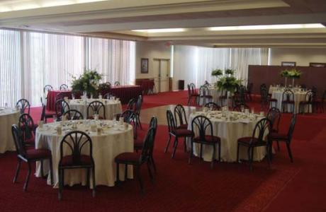 Florida Tech's primary banquest venue, the Hartley Room