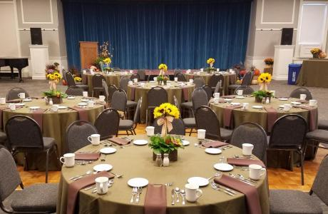 Colby-Sawyer College Offers a variety of sophisticated spaces for any event type