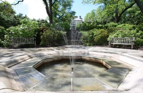 Formal Gardens Fountain