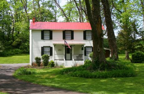 Four guest cottages on the property provide additional lodging