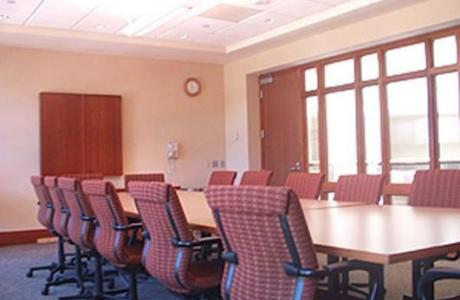 A Campus Center Conference Room.