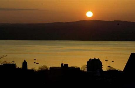 Picturesque view of the Hudson River