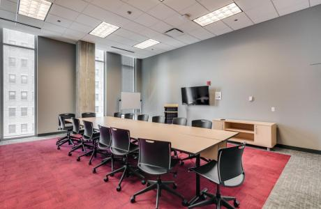 Conference Room West (seats up to 20)