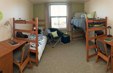 up to 5,000 beds available on campus