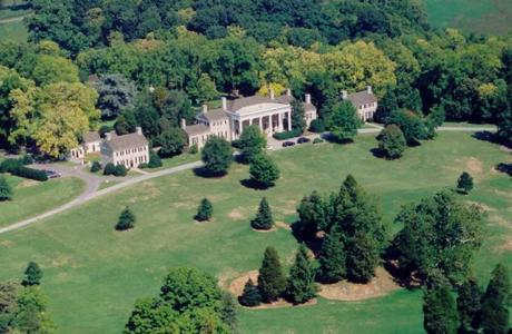 Arial View of Carter Hall
