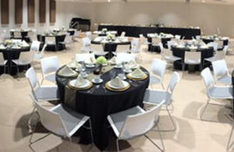 Speed Lyceum banquet style, located in our Student Center