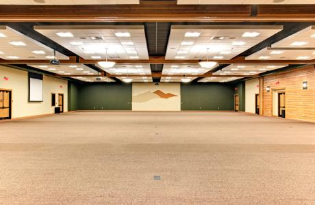 Large group meeting space
