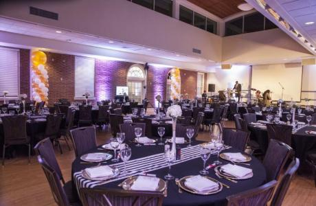 ...to event spaces that make for positive impressions...