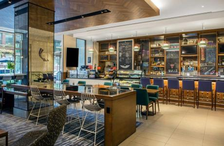 Barista+Bar in Cambria Chicago Magnificent Mile Hotel Lobby