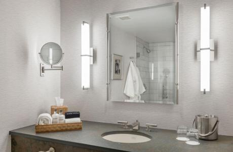 Private luxurious bathrooms