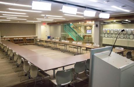 Boardroom Style in Main Event Space