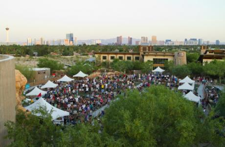 Crossroads Commons Amphitheater is ideal for large-scale festivals or concerts
