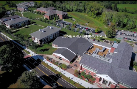 Ariel View of the Lombard Dining Hall