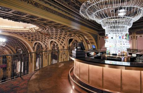 The Chandelier Bar is a VIP area for meet & greets, sponsor receptions, etc.