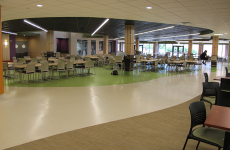 Commons Area at McHenry County College
