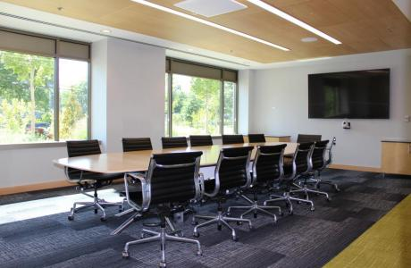 Our small conference rooms are perfect for retreats, board meetings, and more.