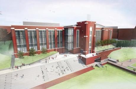 Cregger Athletic Center - opening fall of 2016