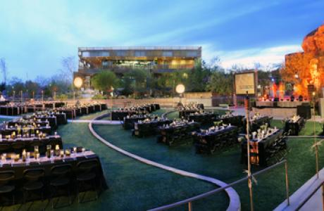 Crossroads Commons Amphitheater can easily accomodate your special event banquet