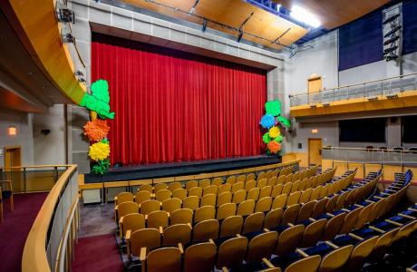 State-of-the-art Lenfest Theater, holds up to 375.