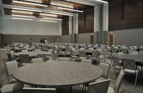 Davidson-Gundy Alumni Center Ballroom  Banquet Set