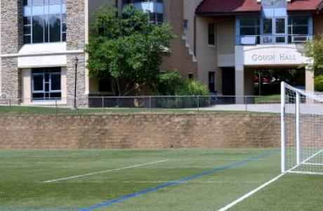 Gough Residence Hall and Olson Turf Field