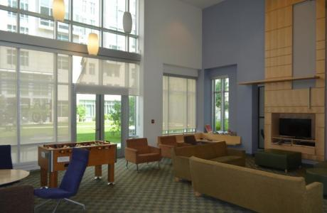 Residence Hall Lounges and Meeting Space