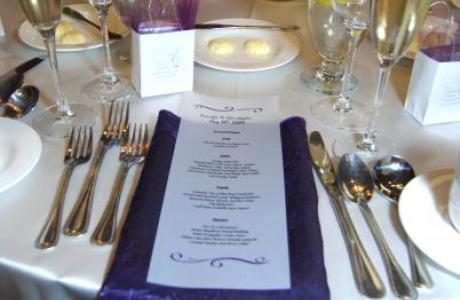 Allow us to host your wedding reception and make your special day everything you could wish for!