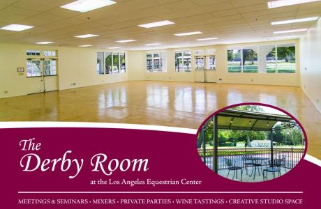 The flexible Derby Room space allows outside catering