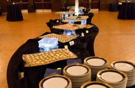 On-site catering is available with professional elegance