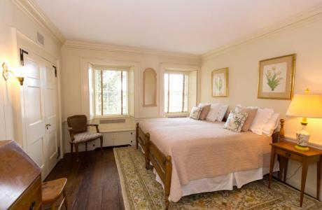 Rest your head in 1 of the East House's 2 bedrooms