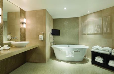 The Harbor Suite Master Bath - Embassy Suites by Hilton, attached to The Grand