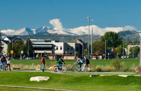 CSU Campus at the Foothills of Rocky Mountain National Park