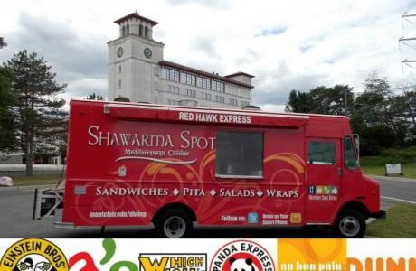 Hire our food trucks to drive up to your event
