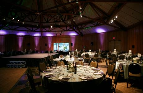 Versatile and beautiful, Miller Hall can fit your needs for any social or business event.