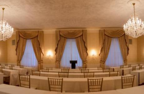Grand Ballroom Classroom Set up