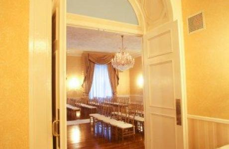 Grand Salon Entrance with Ceremony Set