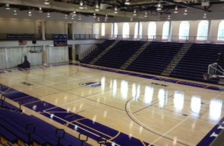 Gym- natural light and 13,000 sq ft. of usable space for sports, events and