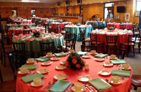 Charlie's Place set for banquet dinner