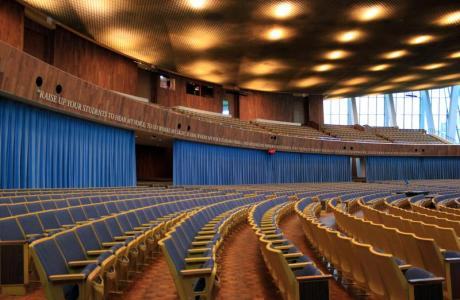 Christ's Chapel auditorium can seat 3,800 guests
