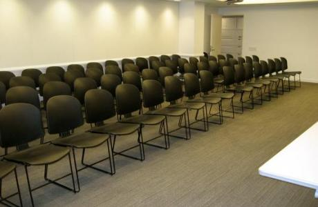 Presentation Room B (row seating setup)